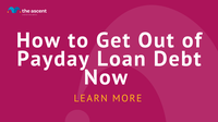 So get rid of the debt of payday loan now